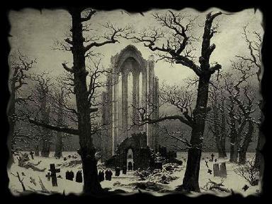 Cementerio gótico, campo santo