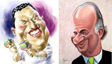 Chavez por Bob Row y el rey por Paco Guzmán
