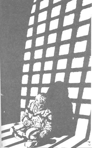 prisionero en carcel