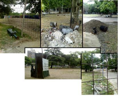 El parque Centenario - dic de 2007