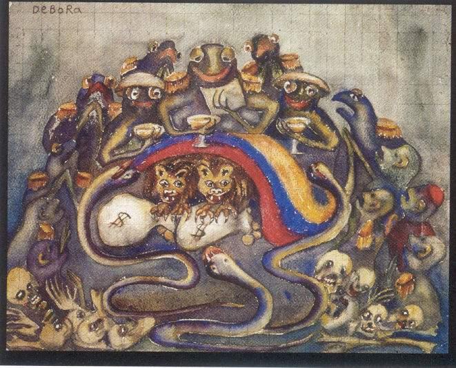 Alegoría de la Violencia - Débora Arango - 2005